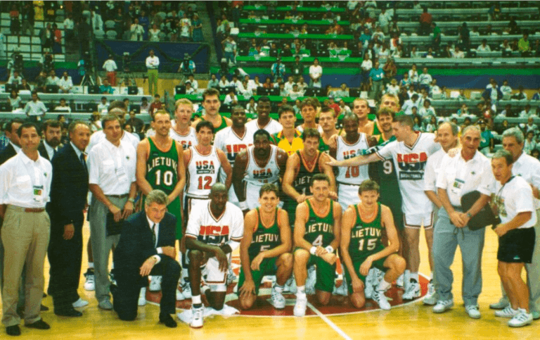 krepsinis lietuva 1992