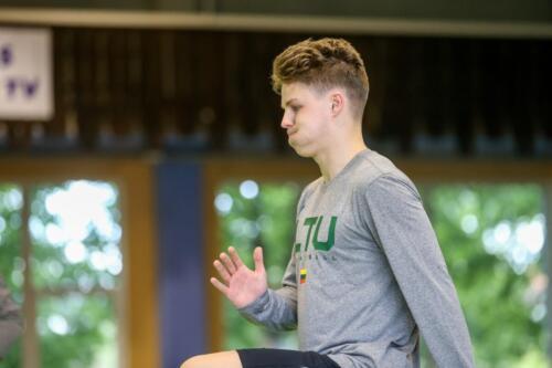 U19 vaikinų rinktinės treniruotė